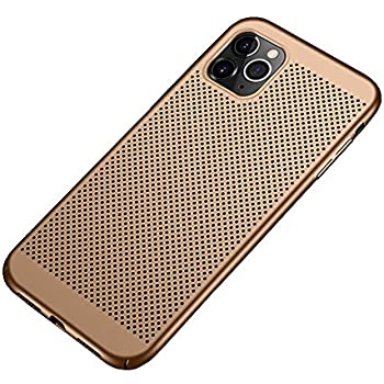 Slim Fit iPhone 11 Pro Max Breathable Case, Ultra-Thin [Skin Touch Feel][Heat Dissipating] Anti-Fingerprint/Skid/Fade Protective Cooling PC Back Cover Case for iPhone 11 Pro Max 6.5