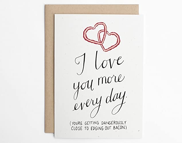 Funny i love you cards for him