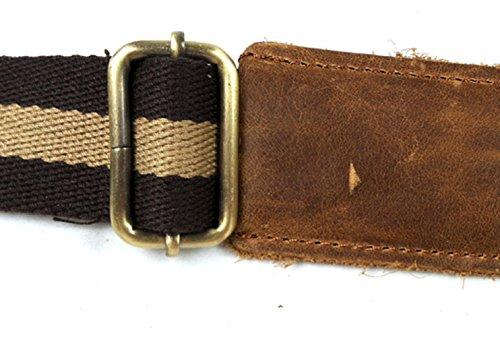 Hombre Vintage Yellow Piel Crazy Bag Horse Messenger insum Amarillo zqEYdzx