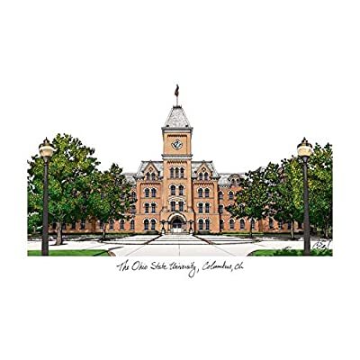 Campus Images Ohio State University Campus Images Lithograph Print