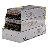 XUNATA 24V 500W DC Switching Power Supply Transformer for CCTV, Radio, Computer Project, LED Strip Lights
