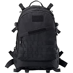 CVLIFE Tactical Backpack 40L Outdoor Military Water Resistance Rucksack Molle packs for Camping