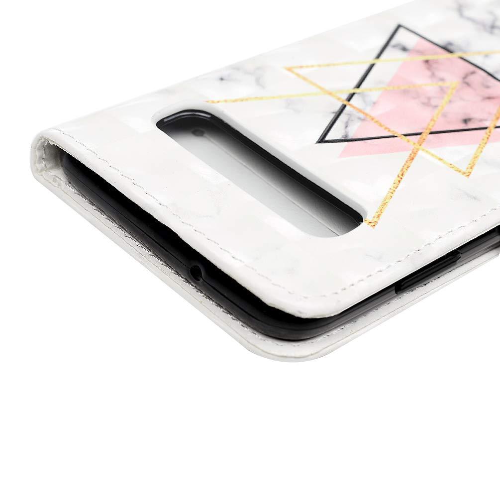 3D-Effekt Gemalt Vorne schnallen Leder Handyh/ülle Klappbares Brieftasche Schutzh/ülle Wallet Case mit Integrierten Kartensteckpl/ätzen Problem Mlorras H/ülle f/ür Samsung Galaxy S10 6.1 Zoll