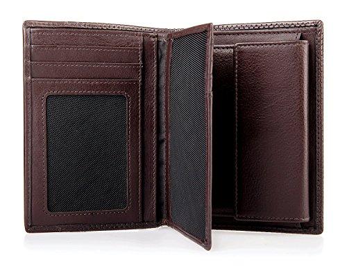 CINQUE Portemonnaie Kombibörse Dunkelbraun