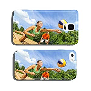 Action beach volleyball cell phone cover case iPhone6