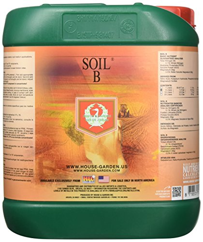 Cannabis grow supplies house garden soil nutrient a for Soil nutrients