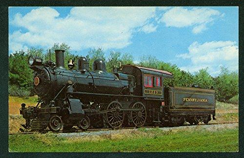 (Pennsylvania Locomotive 1223 Engine Strasburg PA Juniata Railroad Postcard)