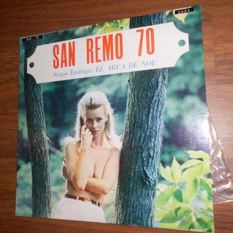 San Remo 70' / Sergio Endrigo : El Arca De Noe (Cetra / - Torry B
