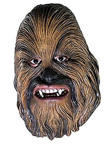 Rubie's Men's Star Wars Chewbacca Mask, Multicolor, One Size -