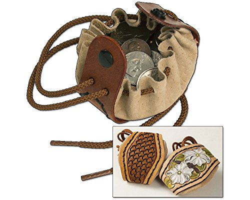 - Tandy Leather Drawstring Coin Pouch Kit 4071-00