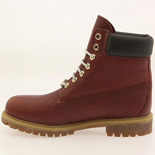 Timberland Homme Football 6in Tb0a176m de brown Prem Textured Chaussures rrqXT