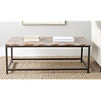 Safavieh American Homes Collection Alec Distressed Grey Barn Coffee Table