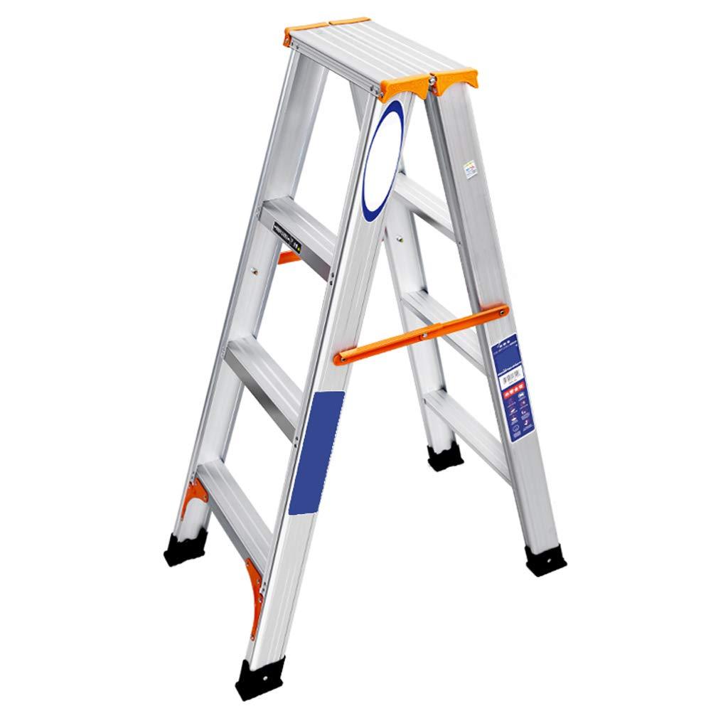 折り畳み式はしごの伸縮式はしごのまっすぐなはしごアルミニウム合金の家庭用の携帯用の屋根裏部屋の2つの3つの4つのステップのはしご V (サイズ さいず : 113cm) B07KT5BN9G  113cm
