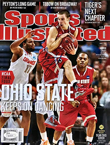Aaron Craft Autographed Signed April 2Nd 2012 Nl Sports Illustrated Si Magazine JSA - Certified Authentic]()