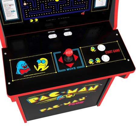 Arcade1Up Pacman Classic Home 3/4 Scale Arcade 1UP Cabinet Video