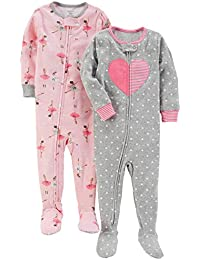 Girls' 2-Pack Cotton Pajamas