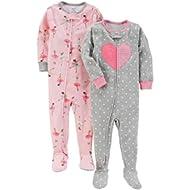 Girls' 2-Pack Cotton Pajamas