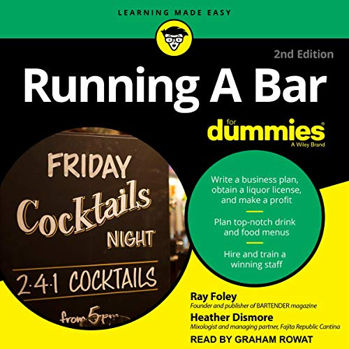 Running a Bar for Dummies by Ray Foley, Heather Dismore