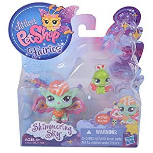 Littlest Pet Shop, Fairies, Shimmering Sky, Sunscape Fairy and Ladybug #2704 ...