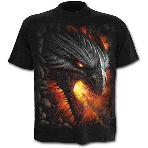 Spiral Rock Guardian T-Shirt schwarz