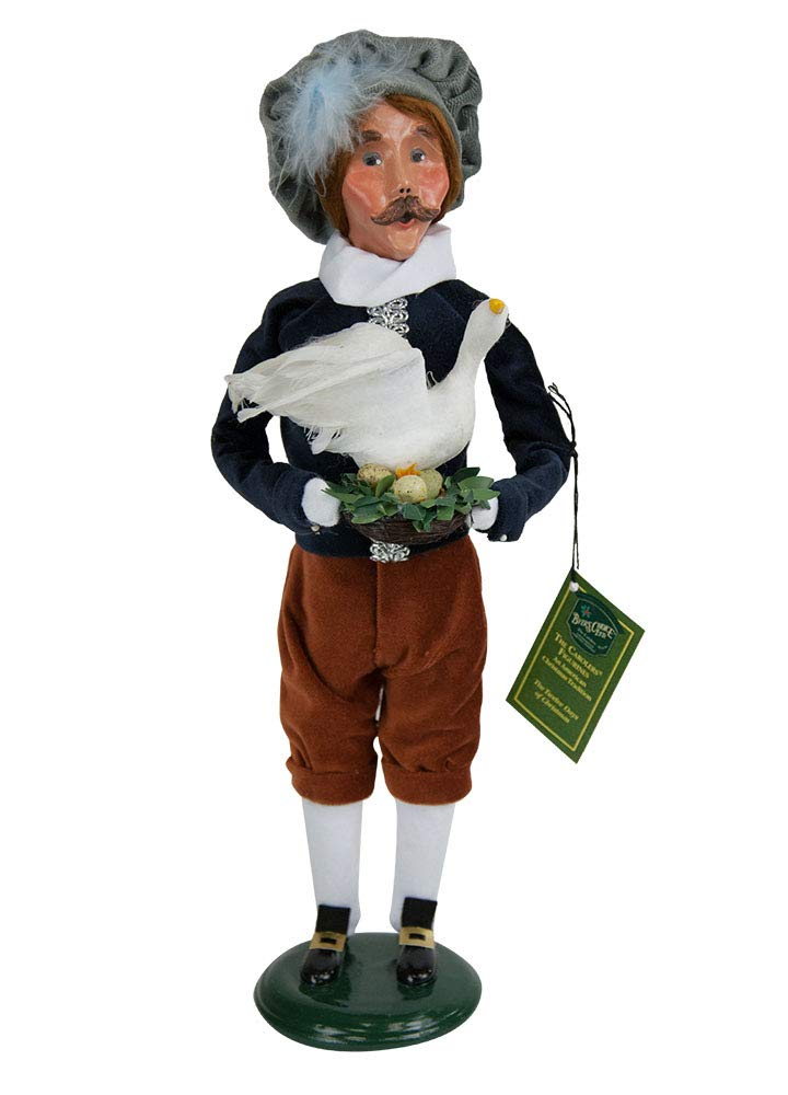 Byers' Choice 6 Geese A-Laying Caroler Figurine #736 from The 12 Days of Christmas Collection