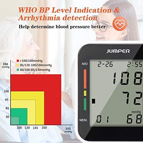 Jumper Monitor Automático de la Presión arterial de Muñeca monitor ...