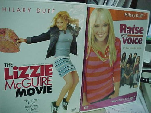 The Lizzie Mcguire Movie , Raise Your Voice : Walt Disney Hillary Duff 2 Pack Collection (Dvd Movie The Duff)