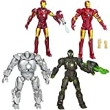 Iron Man Movie Action Figures Wave 2 Revision 4