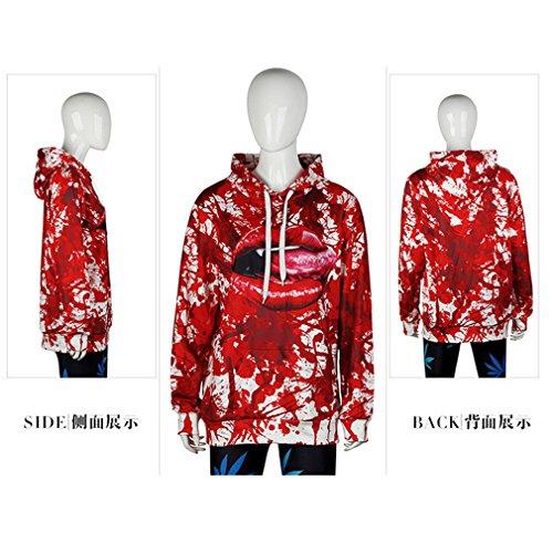 Belsen - Sudadera con capucha - para mujer Splashing blood