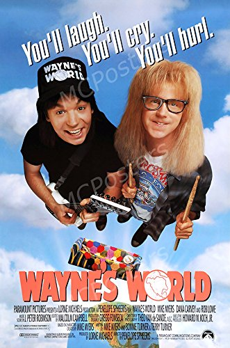 MCPosters Wayne's World GLOSSY FINISH Movie Poster - MCP500 (24