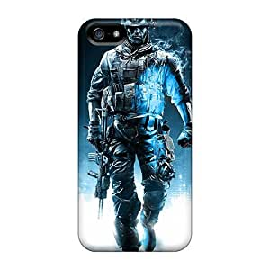 New Premium WuvpbDT5162ApWqg Case Cover For Iphone 5/5s/ Battlefield 3 Action Game Protective Case Cover