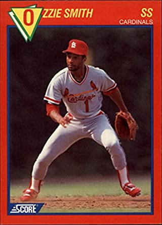 Amazoncom 1989 Score Baseballs 100 Hottest Players 88 Ozzie