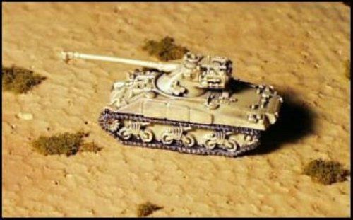 (Modern Micro Armour - France & Netherlands 1:285 Sherman w/AMX Turret)