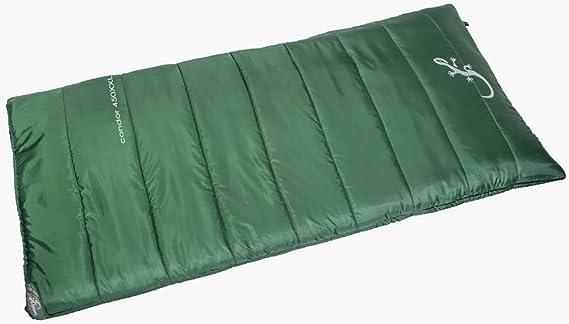 220 x 75 cm Adulte Sac de Couchage pour Le Camping et Les activit/és de Plein air CampFeuer Sac de Couchage XXL