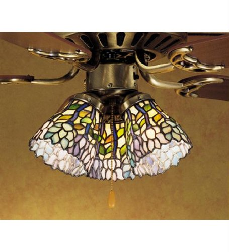 Wisteria Fan Light Shade (Wisteria Fan Light Shade)