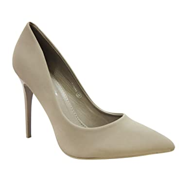 fab6fc5006 Amazon.com | Herstyle Women's Manmade Emuse 4-inch Smooth Sided Heel with Pointed  Toe | Pumps