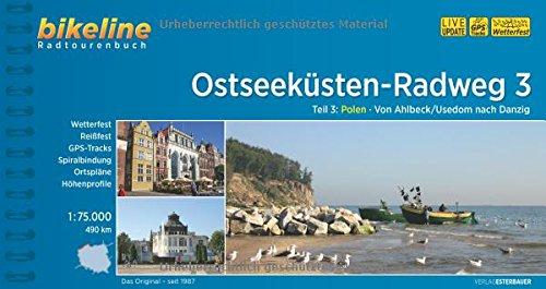 Bikeline: Ostseeküsten-Radweg, Teil 3: Polen. Von Ahlbeck/Usedom nach Danzig. 1:75 000, wetterfest/reißfest