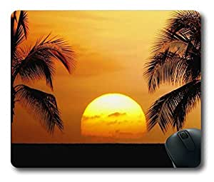 Nature sunset Beauty Easter Thanksgiving Personlized Masterpiece Limited Design Oblong Mouse Pad by Cases & Mousepads by icecream design