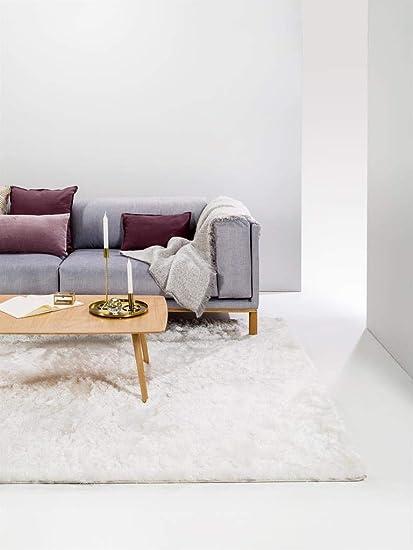 Benuta Shaggy Tappeto A Pelo Lungo 140 X 200 Cm Colore Bianco Amazon It Casa E Cucina