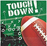 Amscan Football Frenzy Birthday Party Beverage Napkins Tableware Paper 5\  x 5\   sc 1 st  Amazon.com & Amazon.com: Football Frenzy Dinner Plates Party Accessory 50 piece ...