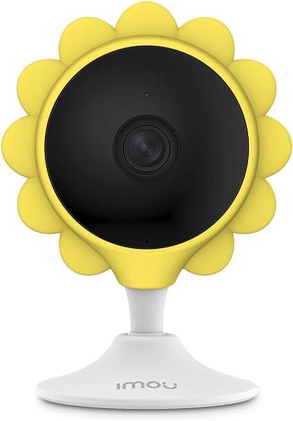 Cubierta Funda de Silicona Narabja para Imou Cue 2 C/ámara de Vigilancia WiFi Interior Color Naranja