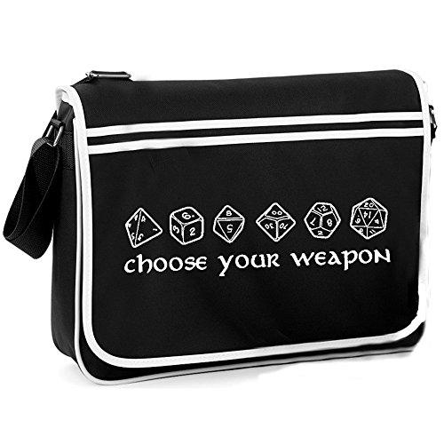 Weapon Choose Your Bag Dice Retro Shoulder 6wf5wUqp