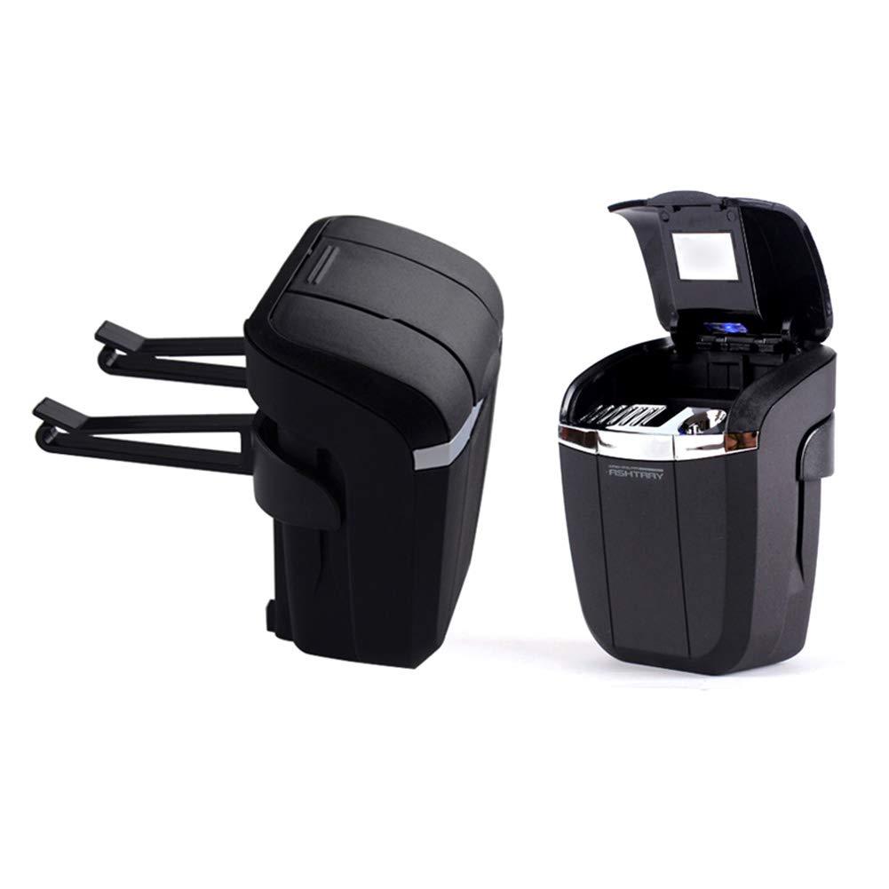 Black NACHEN portacenere per Auto LED con Luce appendente Auto Portacenere