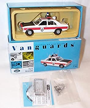 corgi vanguards ford granada greater manchester police car 1 43
