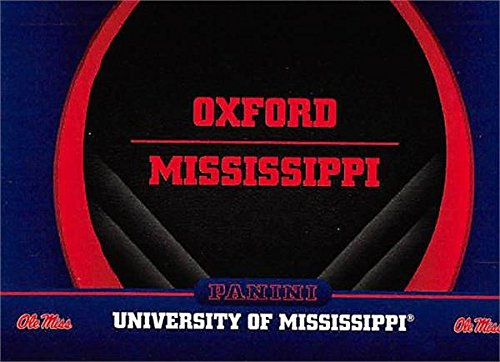 - Oxford Mississippi football card (Ole Miss Rebels) 2016 Panini Team Collection #2