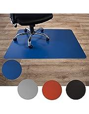 Floordirekt Vloerbeschermingsmat voor harde vloeren, van polypropyleen, bureaustoelonderlegger, beschermmat, harde vloer, kleurrijk, 3 maten