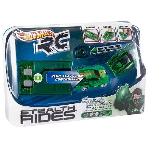 Hot Wheels RC Stealth Rides - Green Lantern Racing Car