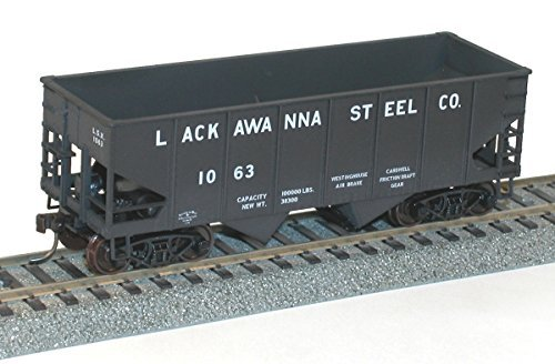 Accurail ACU2430 HO KIT USRA 55-Ton Twin Hopper, LSX