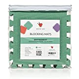 Blocking Mats for Knitting Set, Extra Thick .78 inch, Steam and Wet Block, Durable, Storage Bag Included, Easy to Use, Easy to Store, 9 Pack