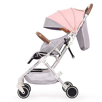 WYX-Stroller Kid Pram High Landscape Cochecito para Bebés Se ...
